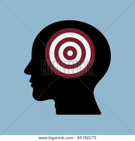 Target Goal In Human Head