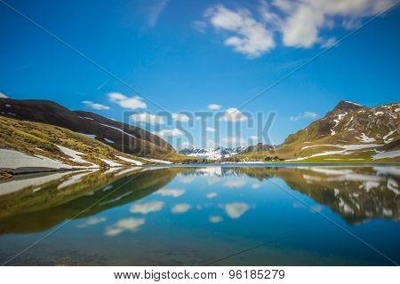 Swiss Alpin Lake
