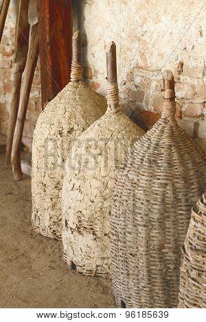 Ancient Traditional  Barrels