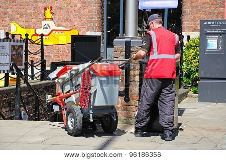 Litter Picker, Liverpool.