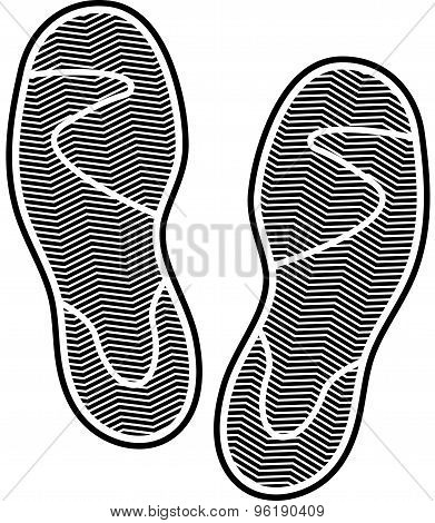Shoes print