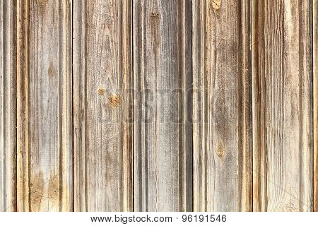 Planks On Wooden Fence