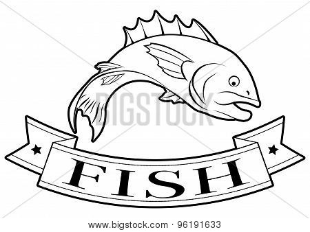 Fish Food Label
