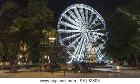 Erzsebet Square, Budapest, Hungary