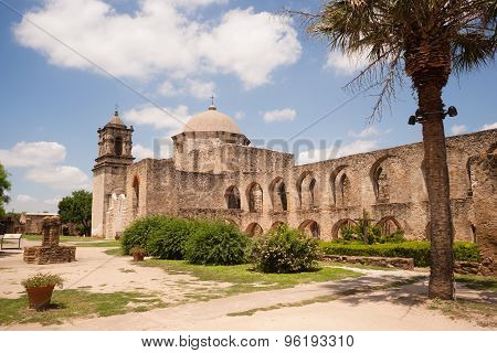 Historic Old Architecture Mission San Jose San Antonio Texas