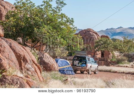 Camping At The Lodge At Koiimasis
