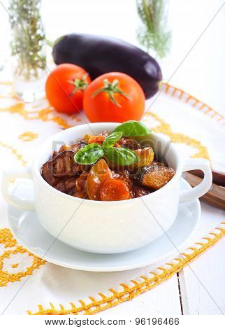 Vegetable Stew With Sauce