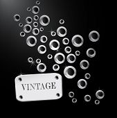 ������, ������: Abstract retro background