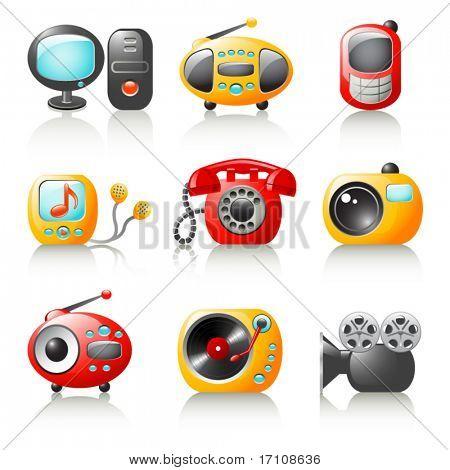 cartoon media home appliance