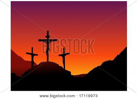 Jesus death on the cross