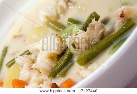 Lobster Soup Nicaraguan Style Vegetables