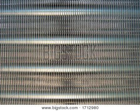 Condenser Coil Closeup
