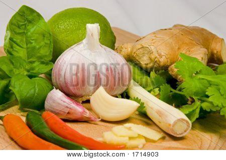 Clásicos tailandés ingredientes 1