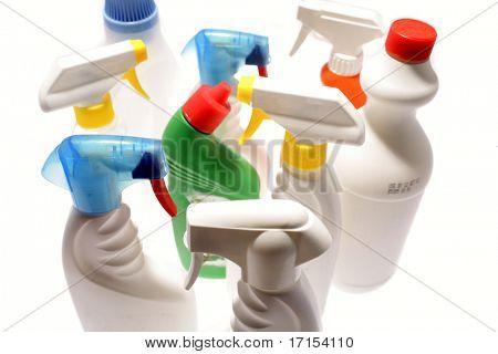 Limpeza de garrafas