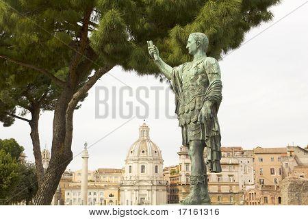 Caesar Augustus, Forum In Rome