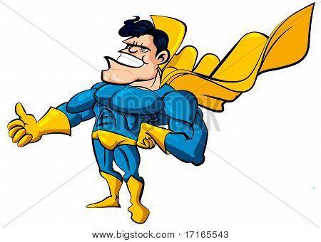 Cartoon-Superman