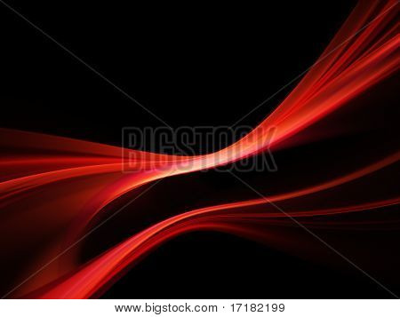 Abstract design. Available in red, green and blue colors on white and black background.