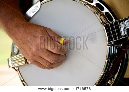 Country Music Banjo Player