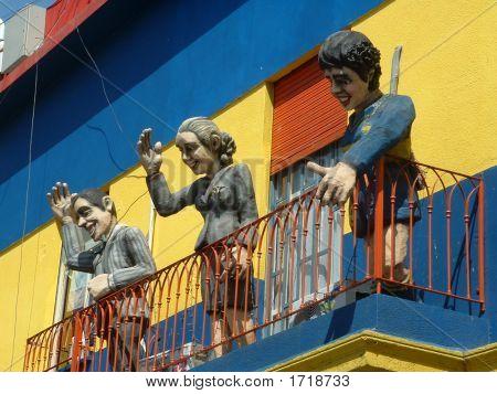 Paródia de evita em Buenos Aires