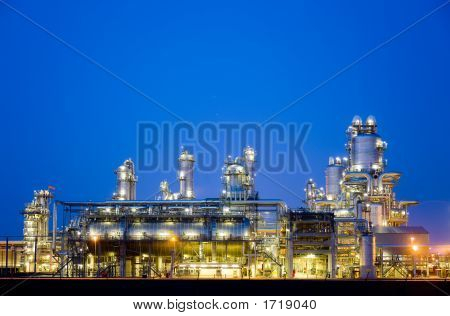 Refinery At Night 5