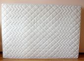 stock photo of mattress  - white mattress on the room - JPG