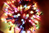 image of christmas lights  - Christmas lights - JPG
