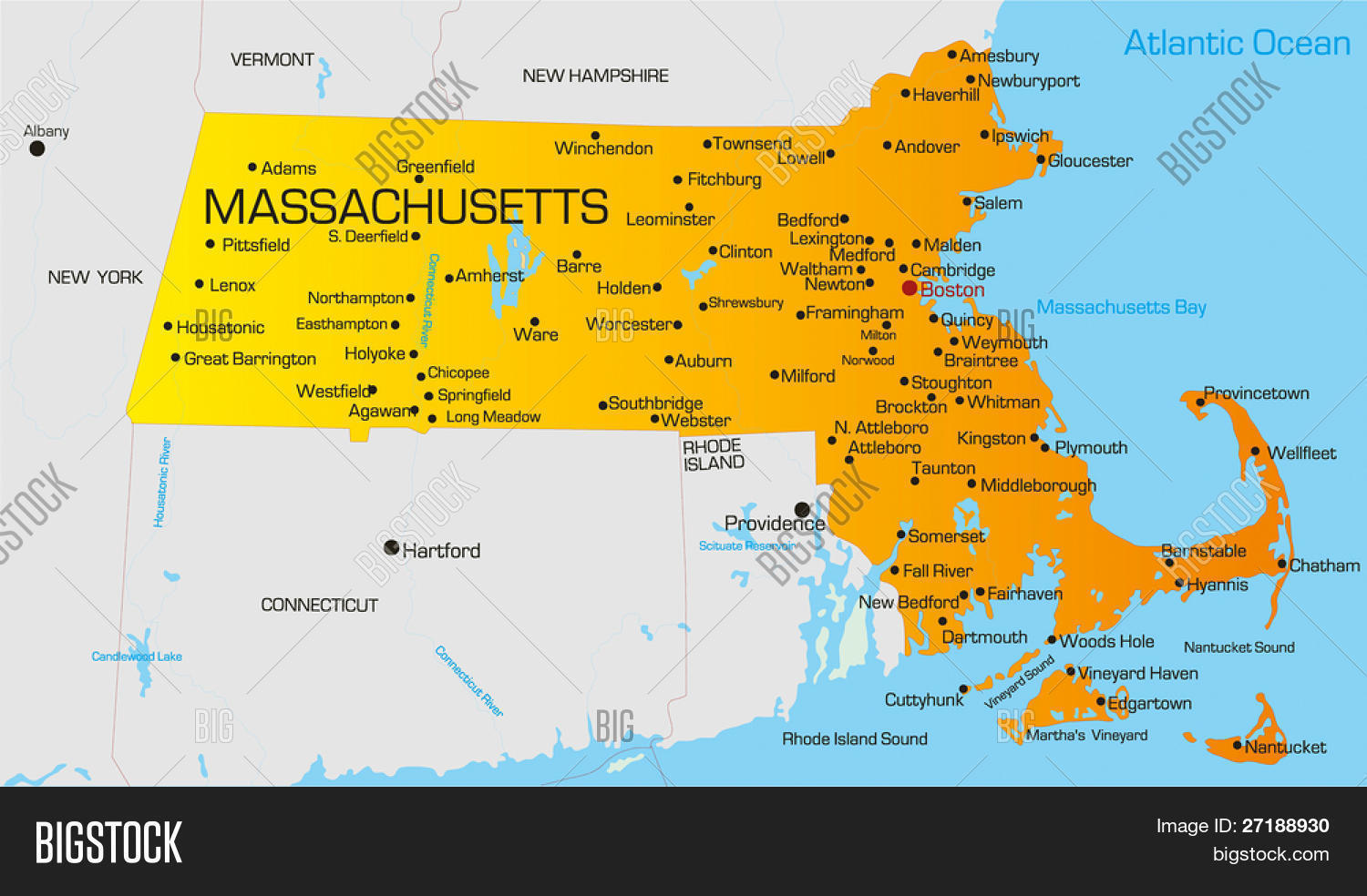 List Of Municipalities In Massachusetts Wikipedia Massachusetts - Us map massachusetts highlighted