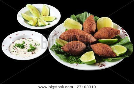 Kibbe. Clipping path included.