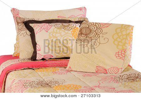 Bettwäsche. isoliert