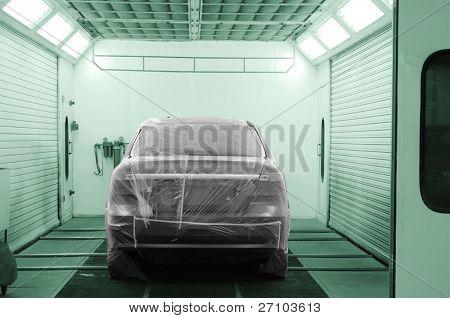 Reparação de automóveis.