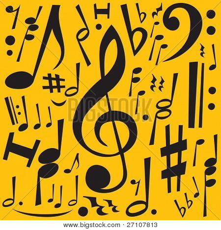 Music Notes (also available vector version in this gallery)