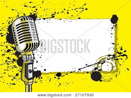 Music Event Design (also available vector version of this image in our gallery)