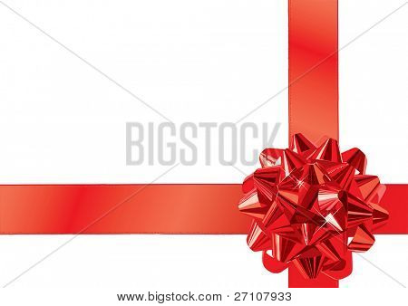 Gift Bow (vector). In the gallery also available XXL jpeg image made from this vector