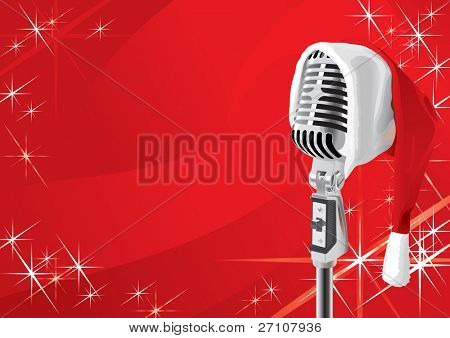 Christmas Song (vector). In the gallery also available XXL jpeg image made from this vector