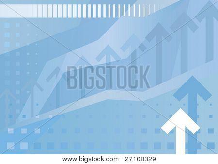 abbildung abstrakt Business Hintergrund (Vektor). in der Galerie machte auch verfügbar Xxl Jpeg-Bild von diesem v