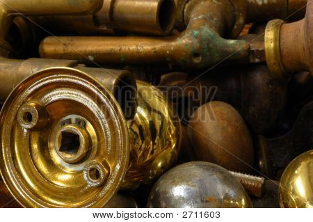 Brass Salvage Objects
