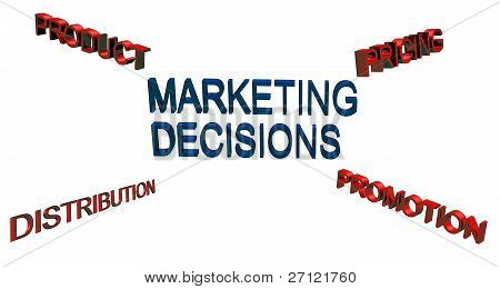 marketing decision concepts