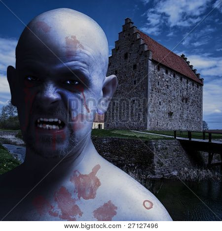 Twilight Vampire Man