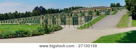 Sanssouci Palace - Terrace View, Potsdam, Germany