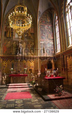 beautiful cathedral in prag, czech republic