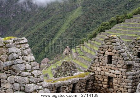 Ancient Ruins Of Machu Picchu