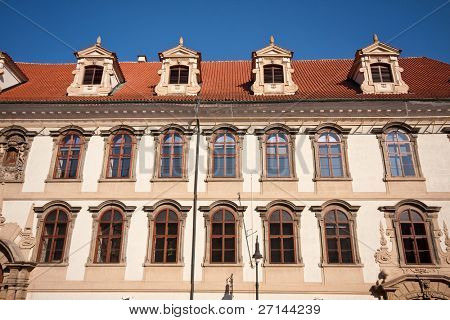 Historic architecture in Prag, Czech Republic