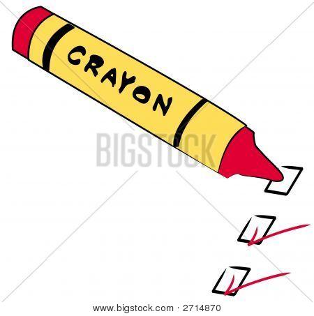 Crayon With To Do Checks 2