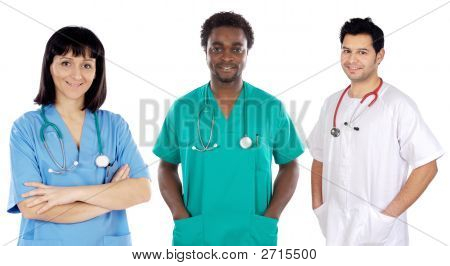 Team Of Young Doctors
