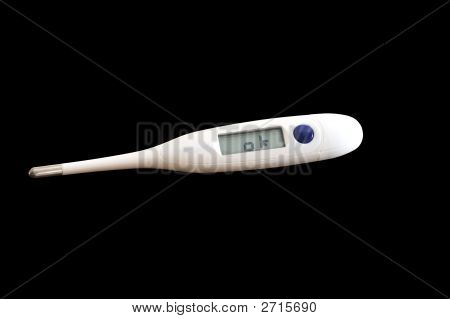 Digitales Thermometer zeigt Ok