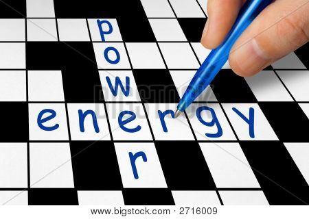 Crossword - Power And Energy