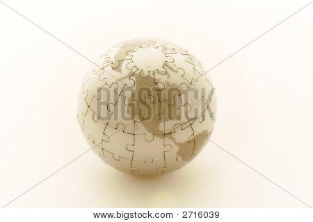 Puzzle Earth - North America