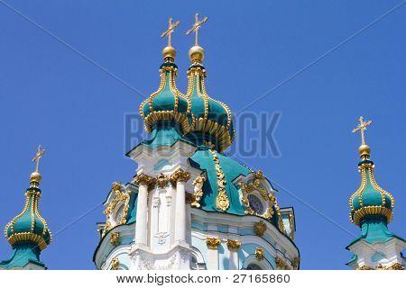 St. Andrew's church in Kyiv, Ukraine