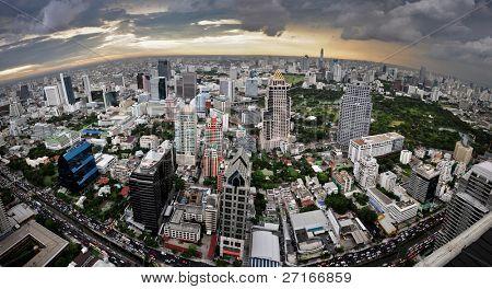 Bangkok fisheye