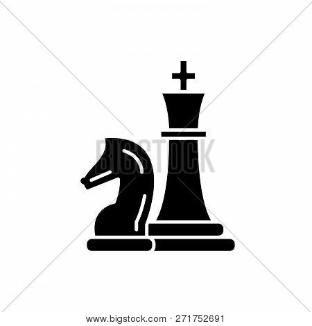 Chess Pieces Knight And Queen
